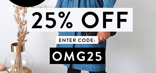 iCLOTHING - EXTENDED 25% OFF Brand New Coats & Jackets