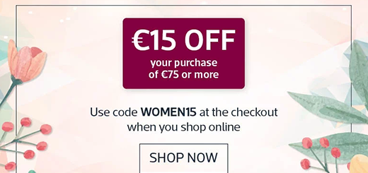 Kilkenny Shop - Here's €15 To Shop