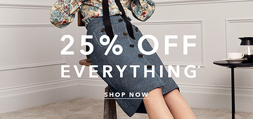 L.K.Bennett - Enjoy 25% Off Everything