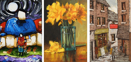 Morgan O'Driscoll - Affordable 'Off the Wall' Online Art Auction
