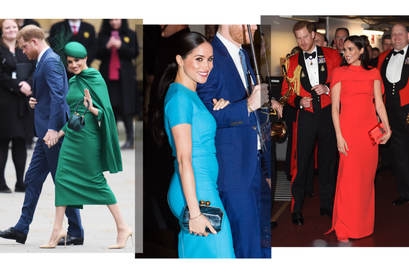 royal watch -The Sartorial Message of Meghan's Farewell Tour