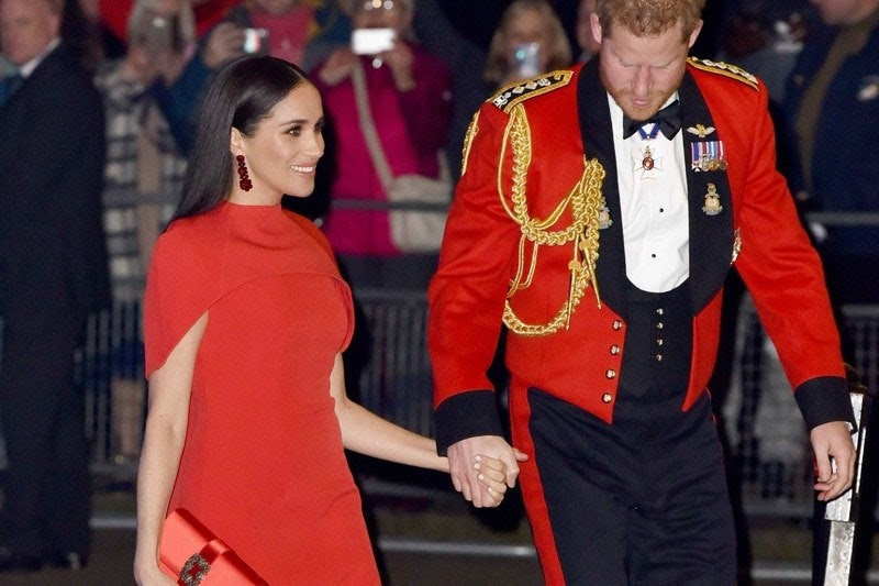 royal watch -The Symbolic Power of the Sussexes in Red