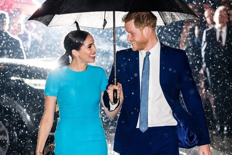 The Newest Iconic Harry and Meghan Image