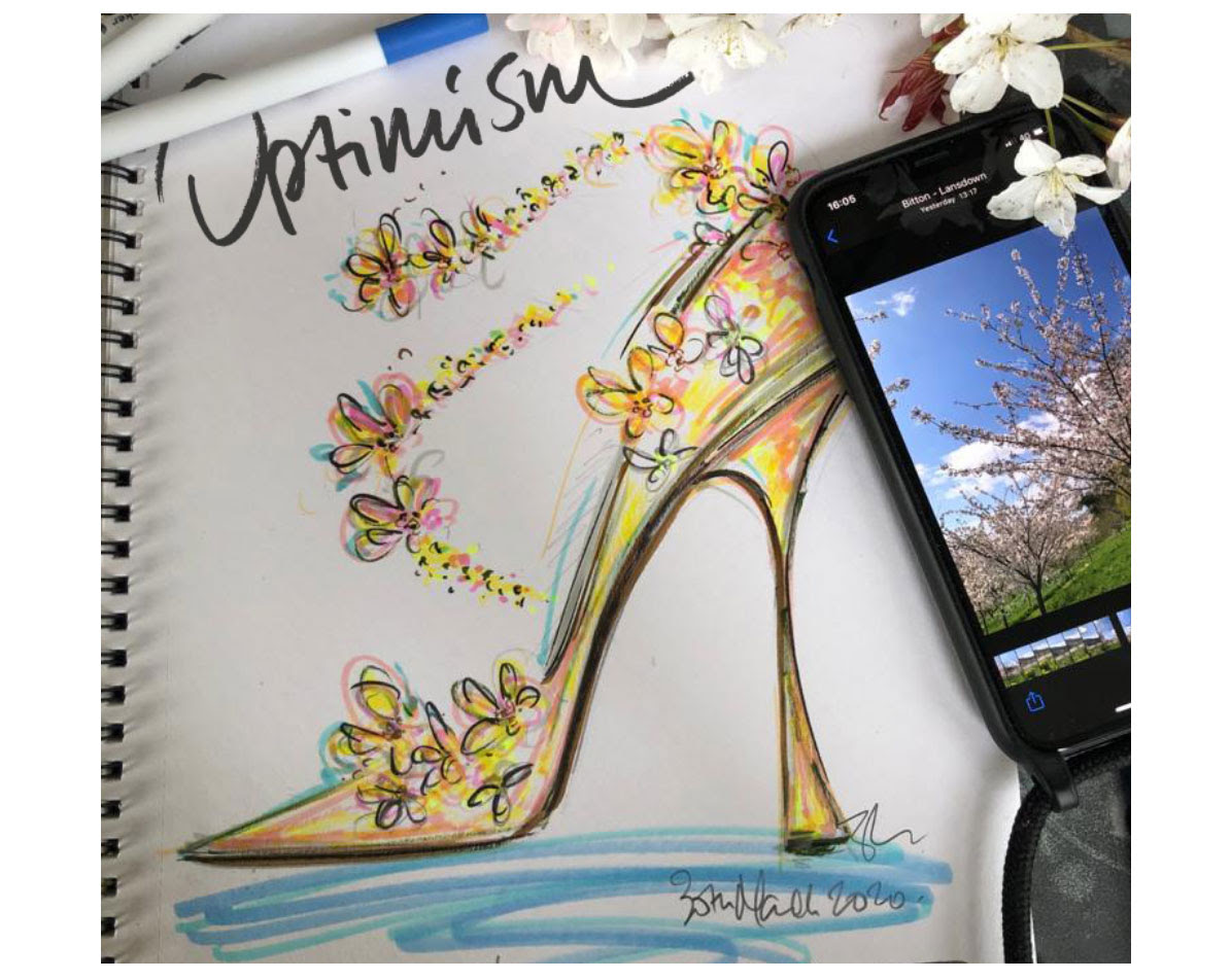 Jimmy Choo - You're invited to #choosketch, share with us