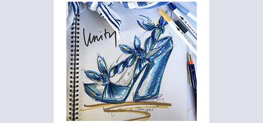 Jimmy Choo - Choo Sketch Of The Week - Unity