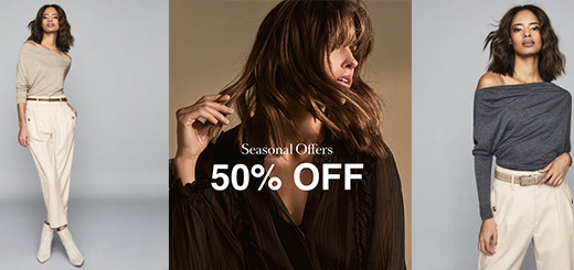 REISS - 50% Off seasonal offers: Limited Time Only
