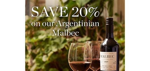 Berry Bros. & Rudd - 20% off Argentinian Malbec