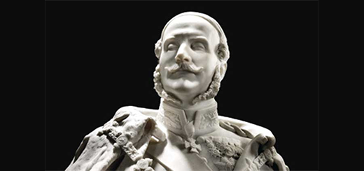 The blind king who led troops into battle: a poignant portrait of Queen Victoria's cousin