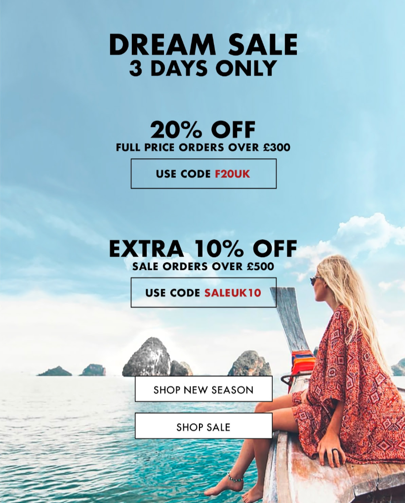 FORZIERI - Last round Dream SALE - 72 Hours and will be gone