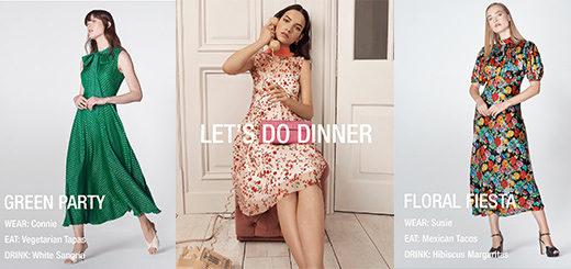 L.K.Bennett - Dressing Up For Dining In