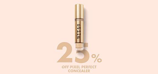 Stila UK - LAST CHANCE to get 25% off Pixel Perfect Concealer
