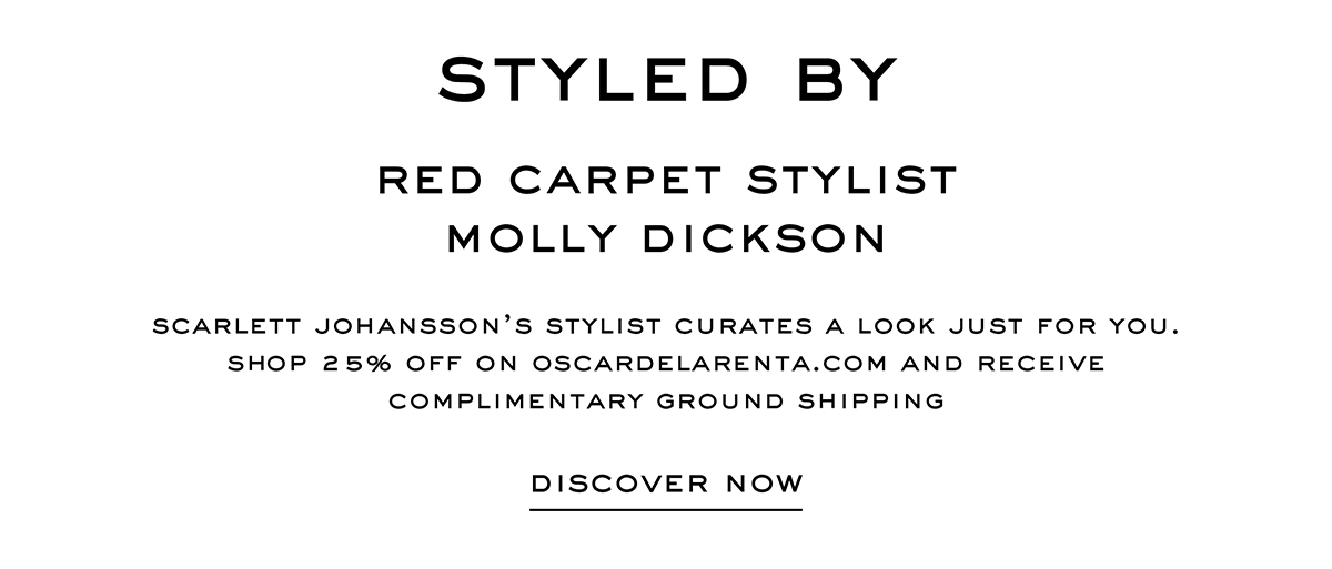 STYLED BY MOLLY DICKSON