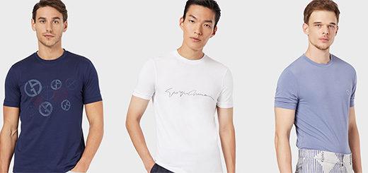 Armani.com - The perfect Giorgio Armani T-Shirt for you