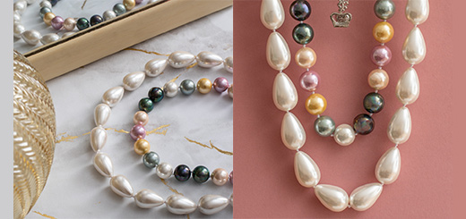 Butler & Wilson - New in luminous pearl necklaces