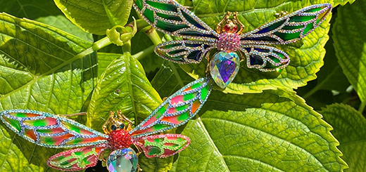 summer brooches