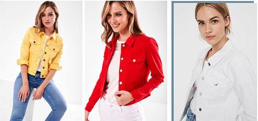 iCLOTHING - DENIM JACKETS - Light Layering for your Summer Wardrobe