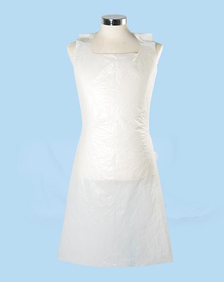 kreative salon supplies -Disposable White Apron, 100 pk