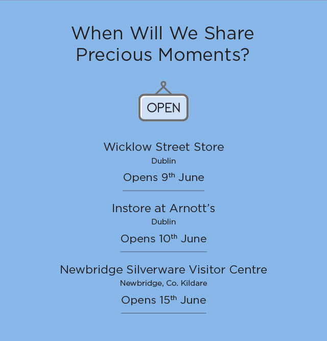 Newbridge Silverware – Store Open! We Can't Wait to See You