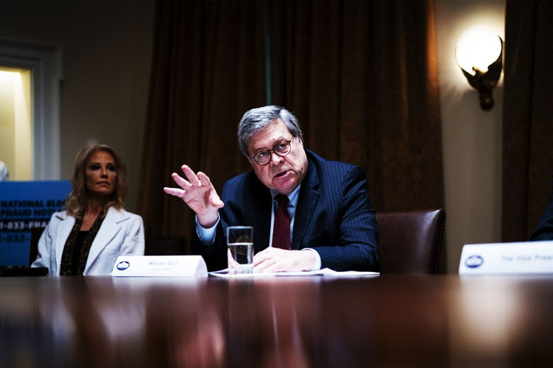 """vanity fair -Is Attorney General Bill Barr """"With the Devil""""?"""