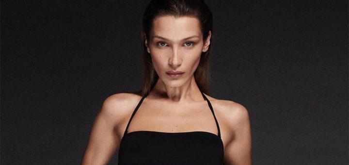 Bella Hadid new Calvin Klein swimwear campaign 2020