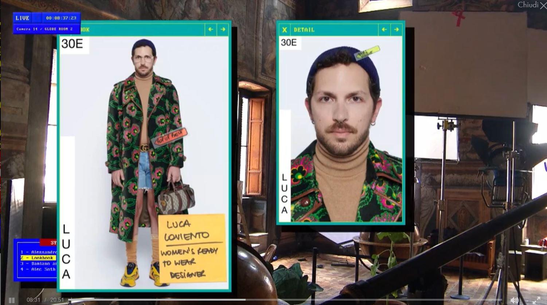 Gucci video milan fashion week.JPG