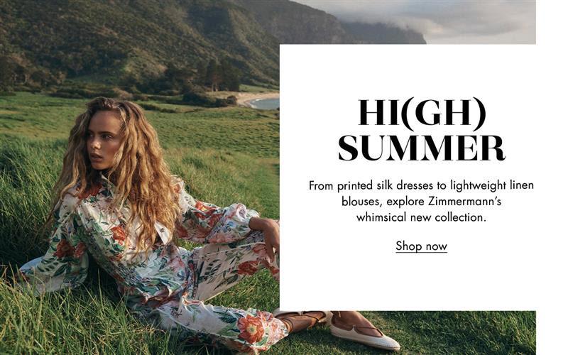 Harvey Nichols - Zimmermann's summer refresh