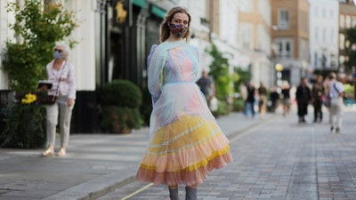 The Best Street Style From London Fashion Week Spring 2021