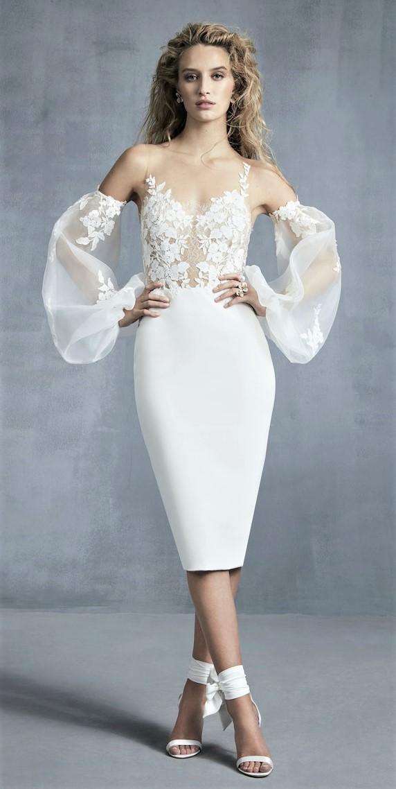 Ines de Santos Bridal short dress balloon sleeves 10-20 pynck (2) cropped.jpg