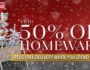 Harvey Norman – 50% off ALL Christmas Trees
