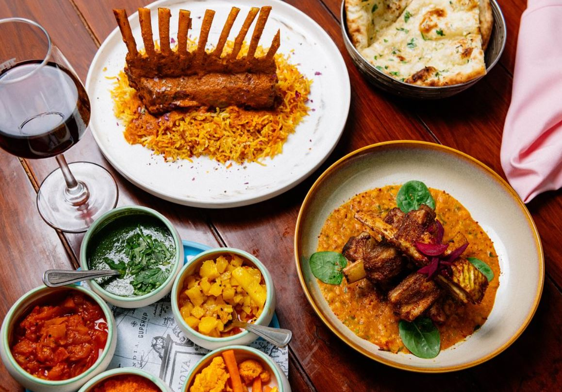Gupshup indian rest lamb meal ny eve take out.JPG