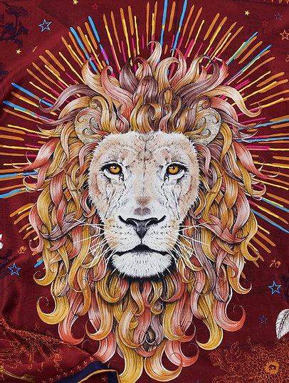 Lion scarf eadach gift irish 12-20.jpg