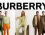 Burberry unveil their new fashion AW2021 pre-collection