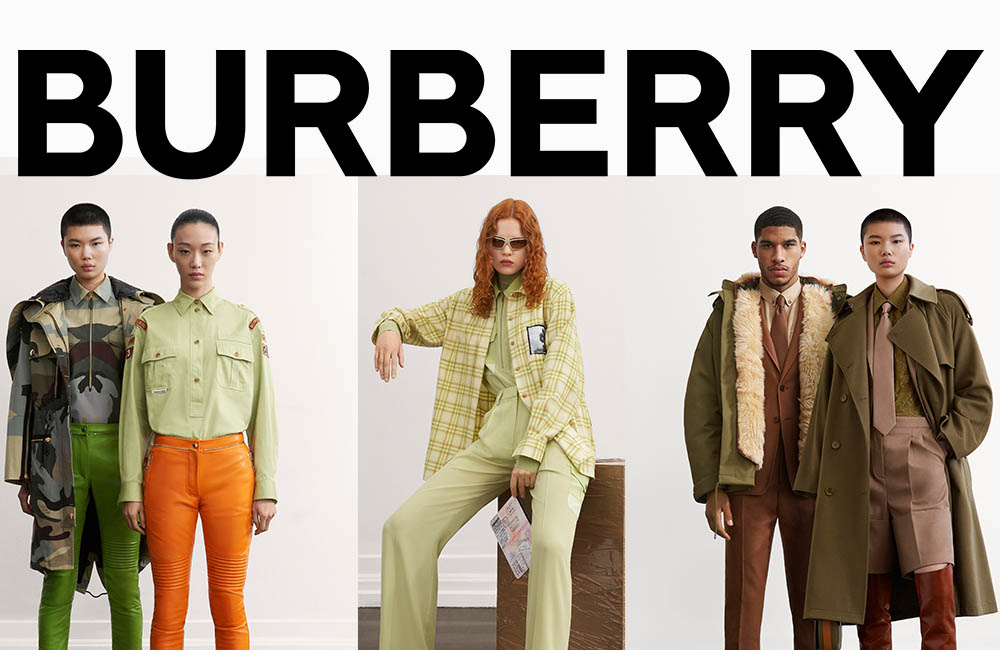 Burberry unveil their new fashion AW2021 pre-collection Ireland