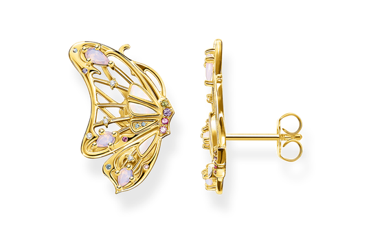Earrings butterfly gold from the Glam & Soul collection in the THOMAS SABO online store