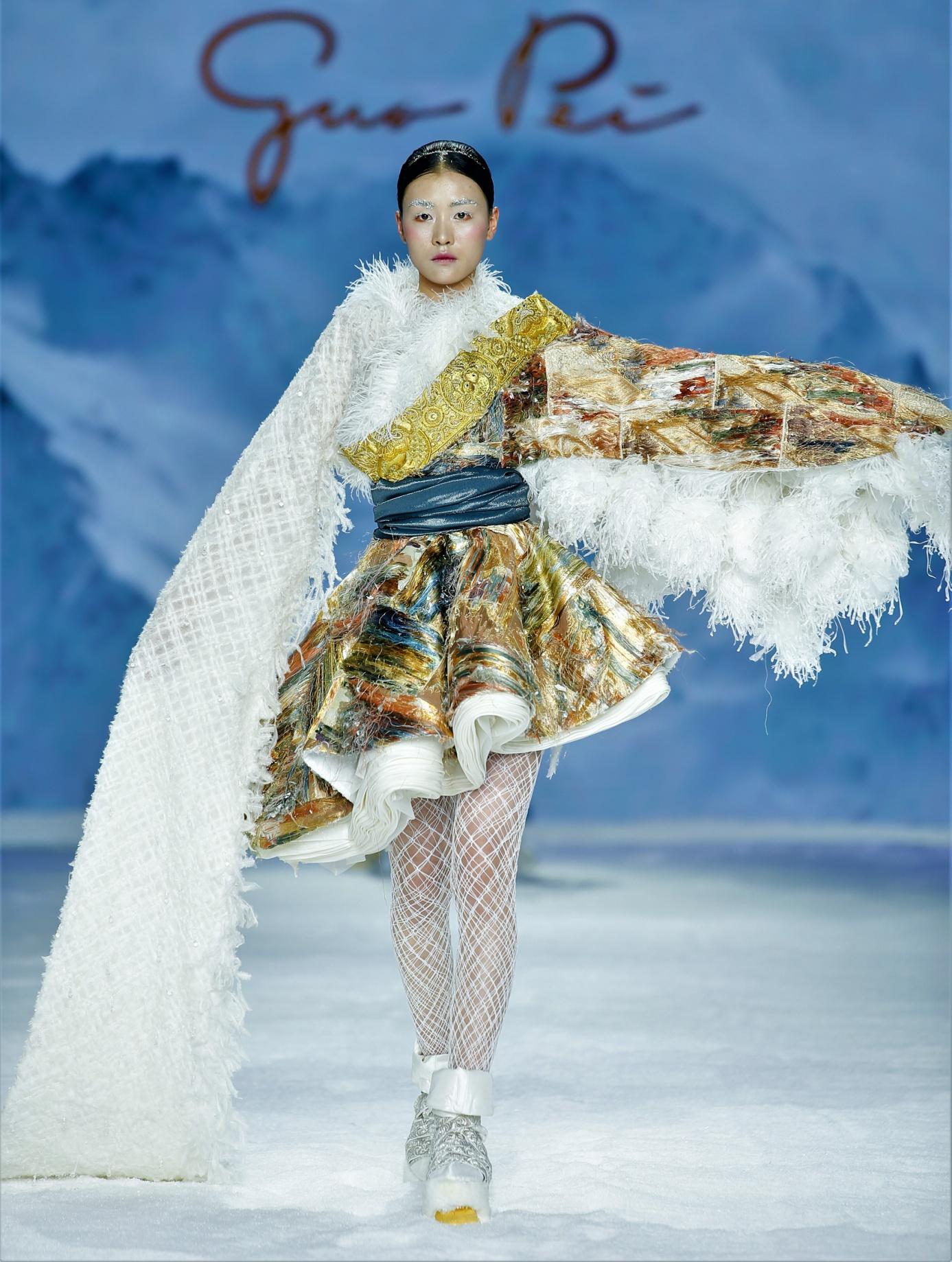 Silk Road Guo Pei asy short ballerina dress cropped.jpg