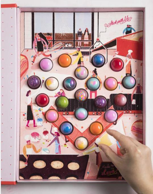 Mott st chocolates, NY Val day book.JPG