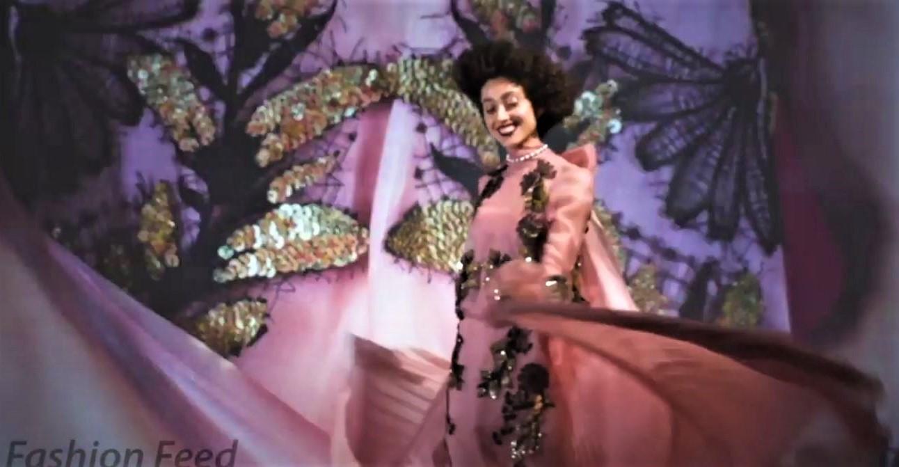 NYFW part 2 Bibhu Mohapatra pink swirling (2) cropped smiling.JPG