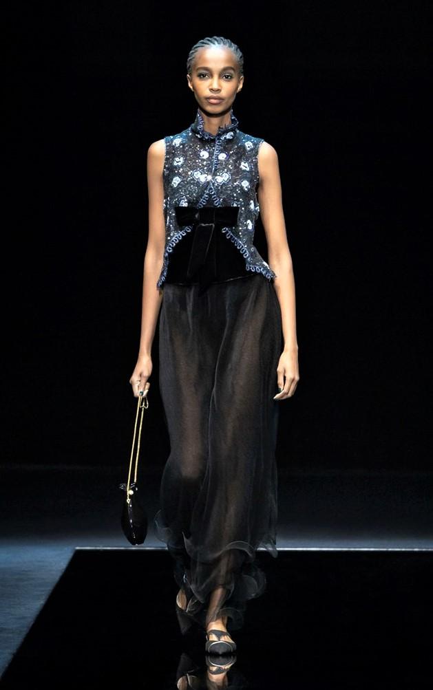 Milan 3 Armani women gown sheer skirt cropped.jpg