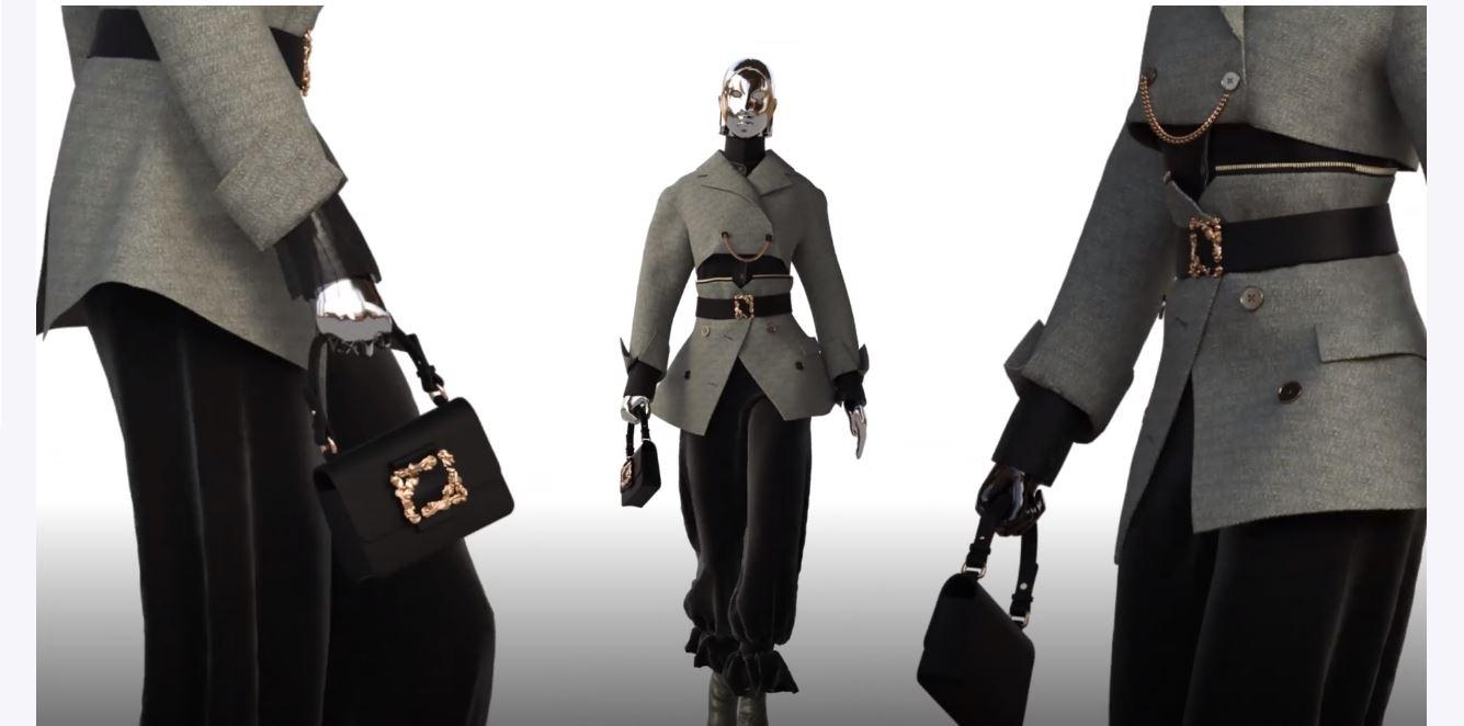 Seoul 3-21 A. Bell grey suit sci fic video.JPG