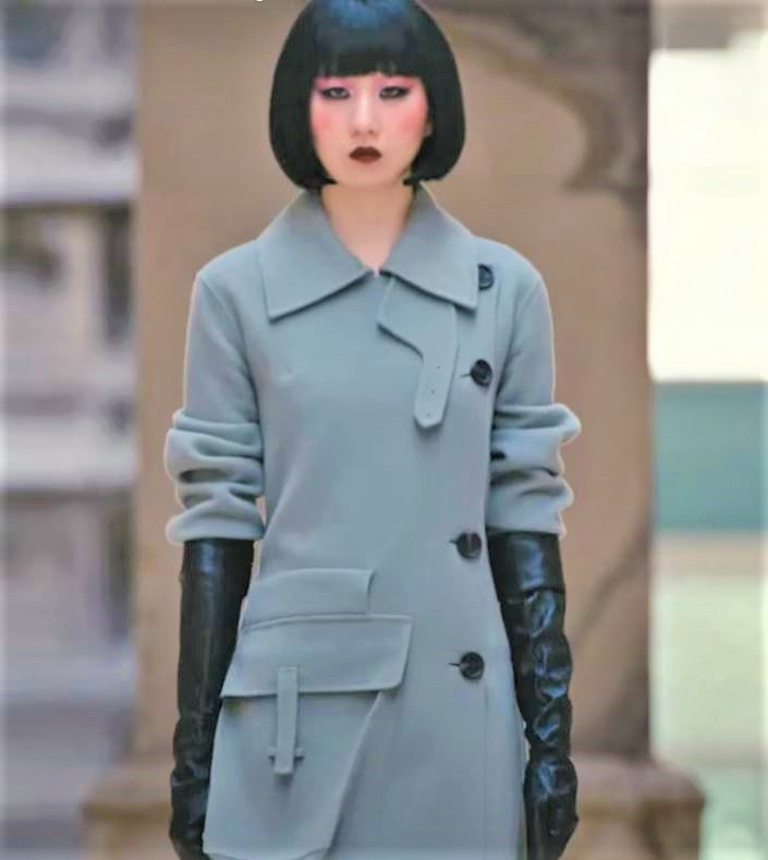 Seoul 3-21 St. Mill pale blue coat (2) cropped.JPG
