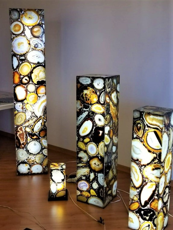 Tucson show agate lamps Angelic Healing Crystals cropped.jpg