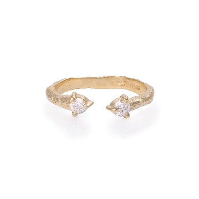 Image of Solid Gold Hope And Magic Ring Classic Diamond