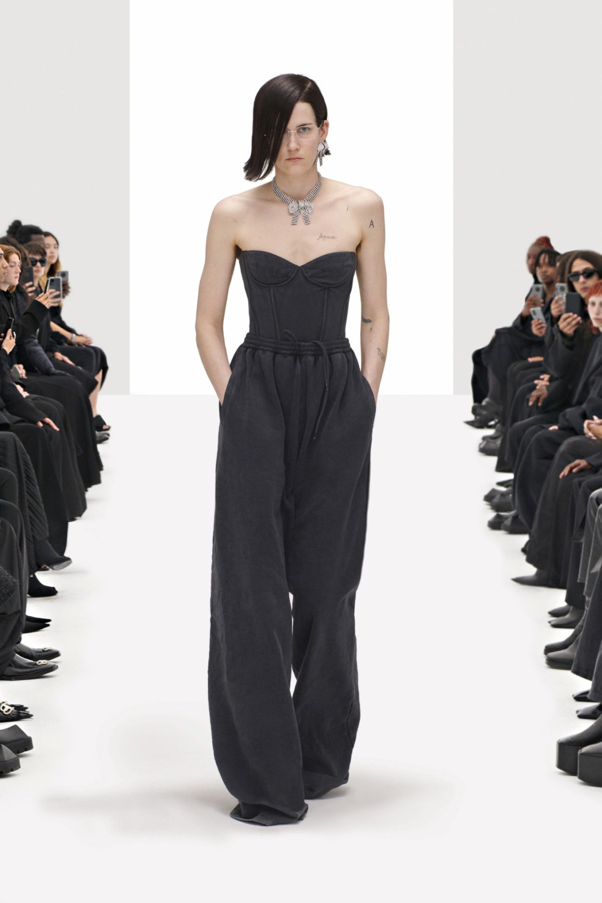 Balenciaga Spring 2022 RTW blk jumpsuit.jpg