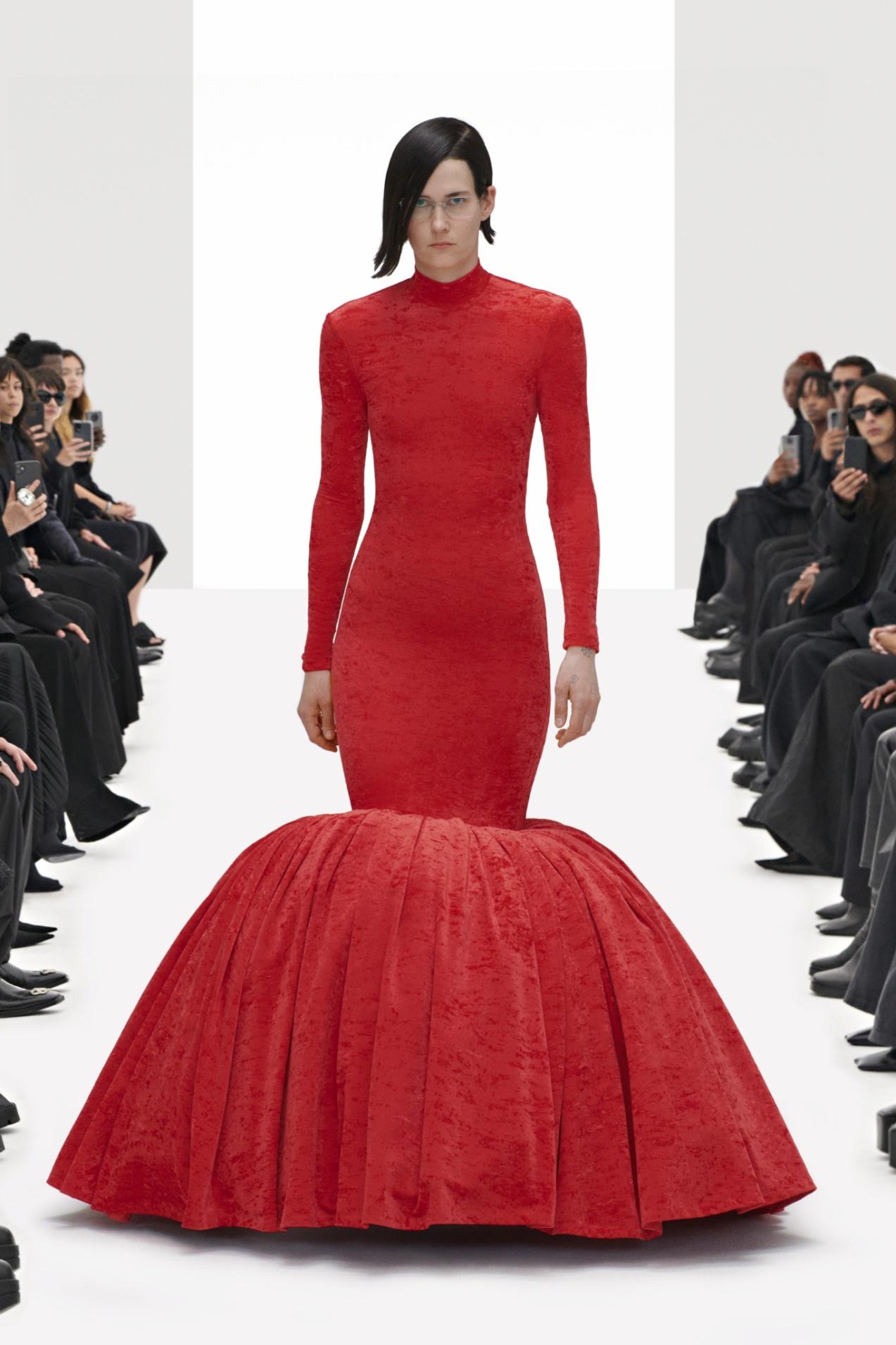 Balenciaga Spring 2022 RTW red dress.jpg