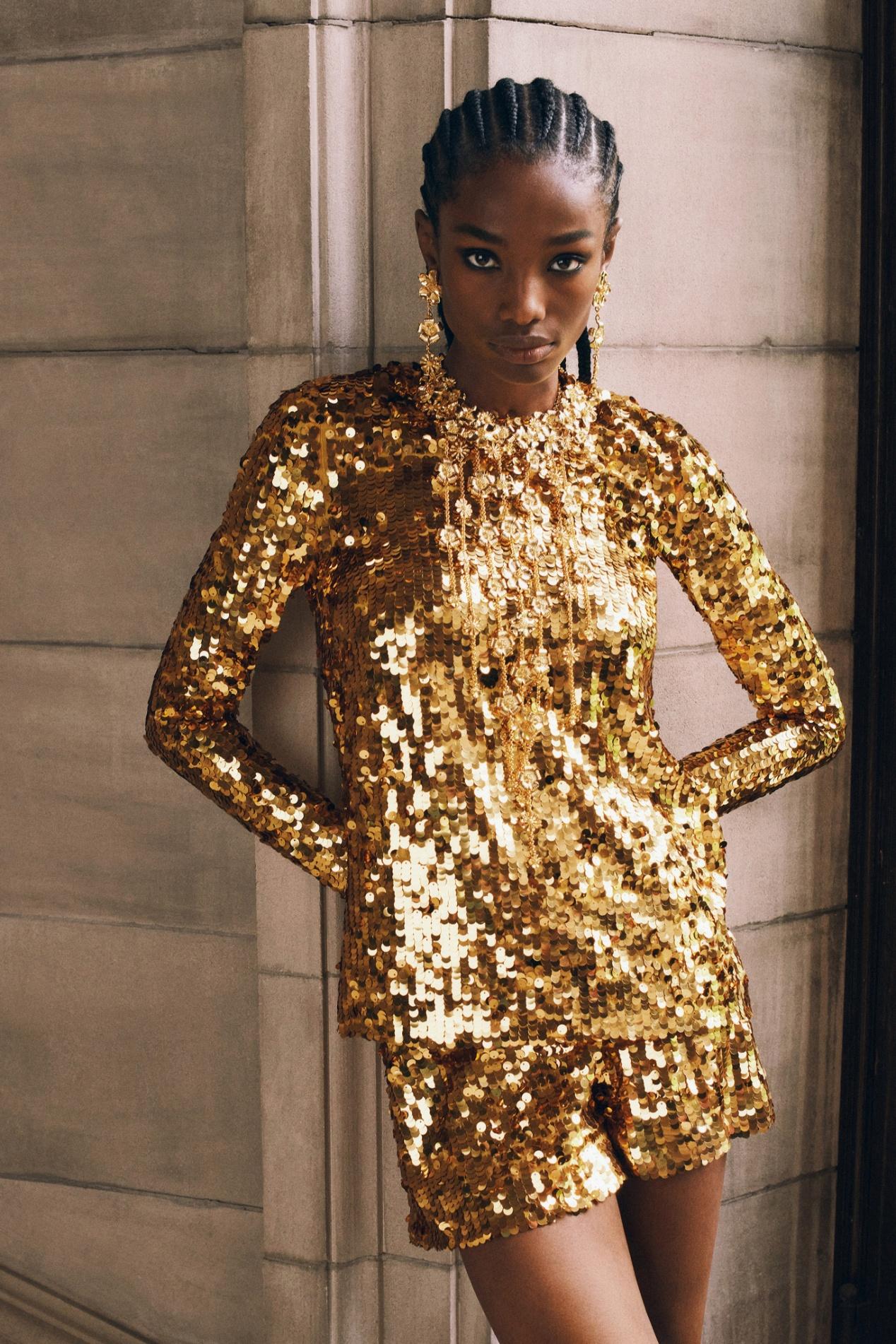 C. Herrera resort 2022 gold sequins vogue.jpg
