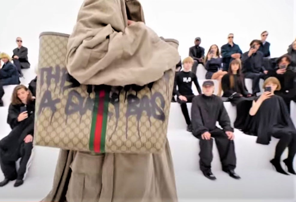 this is not a Gucci bag, Balenciaga video spring 2022 (2) cropped.JPG