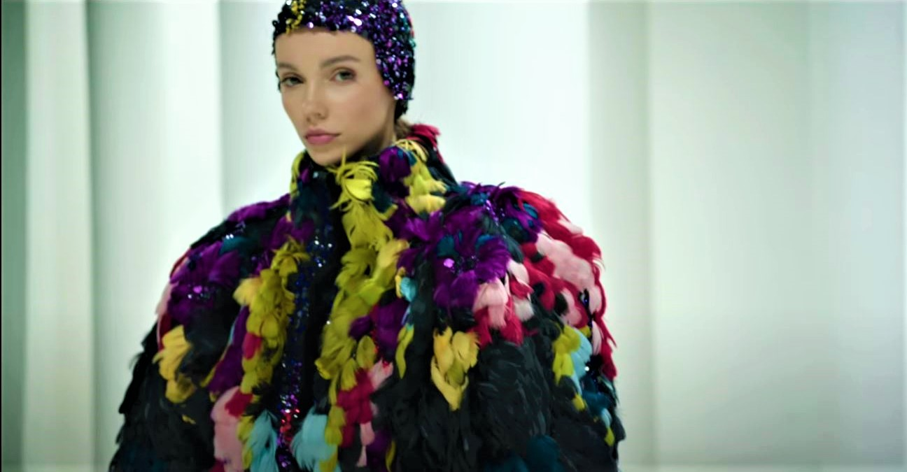 Couture fall 21 eli saab video feather coat youtube (2) cropped.JPG