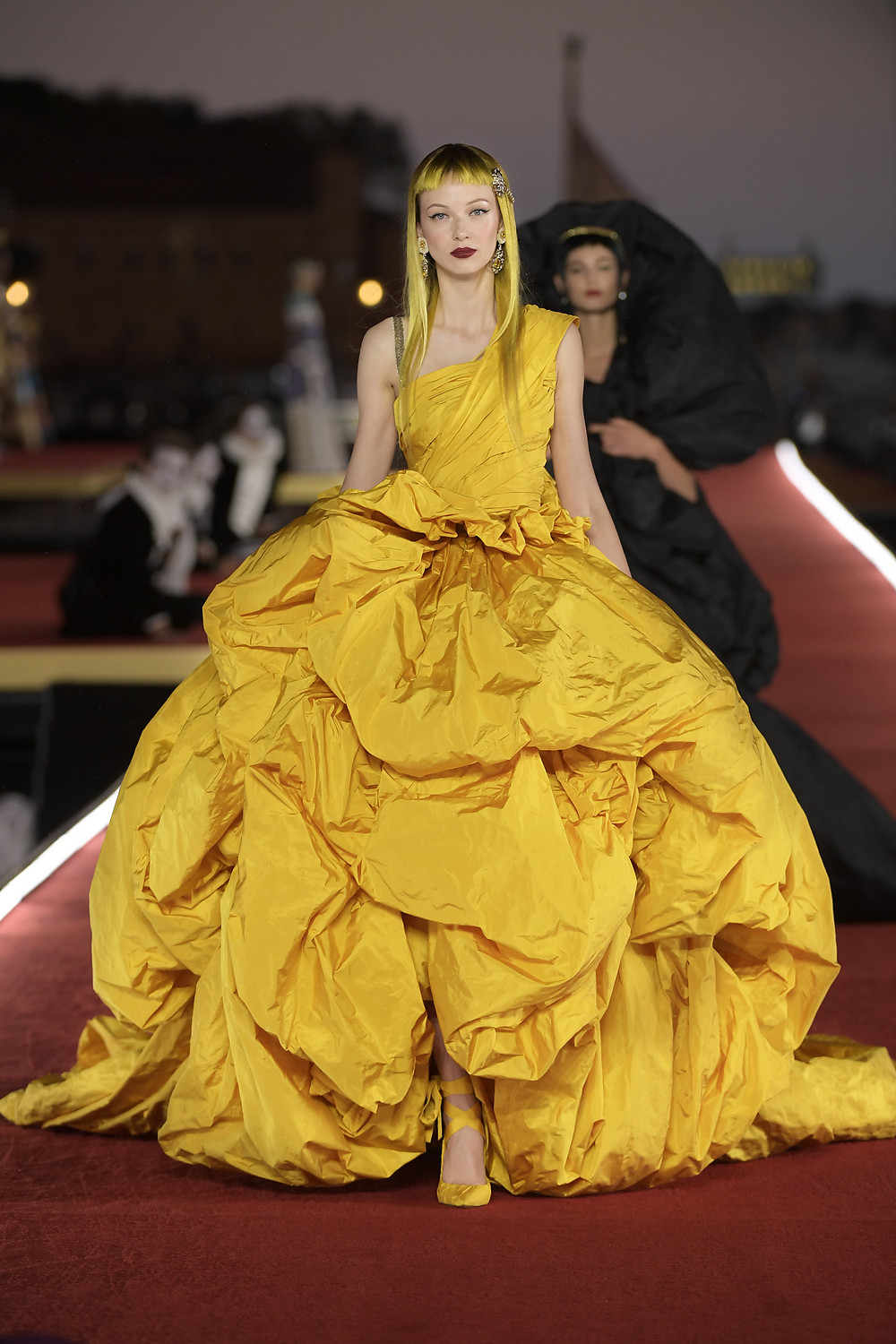Dolce full yellow gown D+G site.jpg