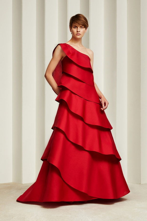 Tokyo 8-21 Jun Ashida red gown.jpg