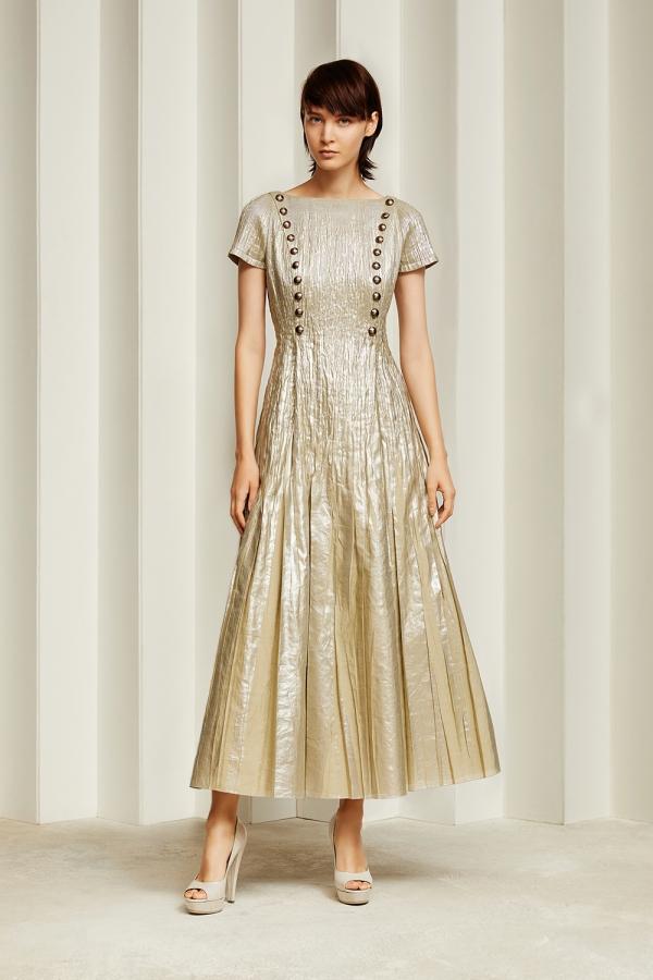 Tokyo 8-21 Jun Ashida silver button dress.jpg